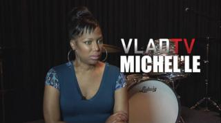 Exclusive! Michel'le: I Was Scared After Suge Dissed Diddy at Source Awards (@michellemuzic)