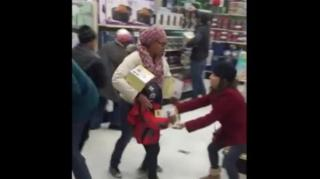 Image: Black Friday Shopper Snatches Item From Child: You're Scaring Me