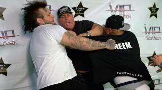 Image: Stitches & Supreme Da Rezarekta Get Into Scuffle at Boxing Press Conference