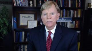 Image: Former KKK Leader David Duke Praises Trump While Announcing Run for Senate