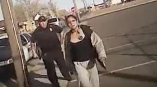 Image: Native American Woman Holding Scissors Killed by AZ Police