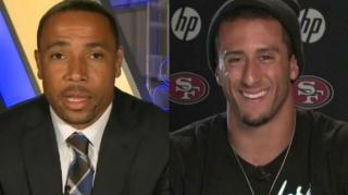 Image: Rodney Harrison Says Kaepernick Isn't Black, Didn't Know He Was Mixed