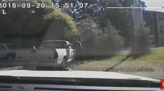 Image: Police Release Dash Cam, Body Cam Clips of the Keith L. Scott Shooting