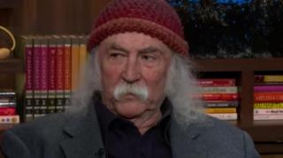 Image: Legendary Rocker David Crosby on Kanye: He Can't Write, Sing, or Play