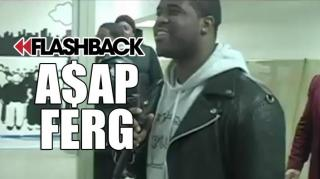 Flashback: A$AP Ferg: I Know Yams Is Looking Down With a Smile on His Face