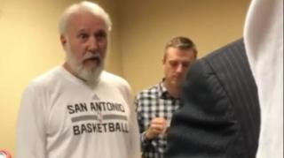 Image: Popovich: Hard to Respect Trump When He's Racist, Misogynistic, Xenophobic