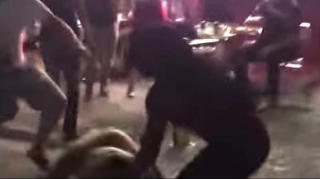 "Image: ""Cash Me Ousside"" Girl and Friends Get Into Fight Outside Florida Bar"