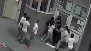 Image: Cook County Inmates Caught on Video Attacking Correctional Officers