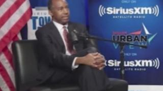 Image: Ben Carson: Poverty to a Large Extent is a State of Mind