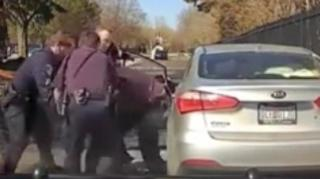 Image: Dash Cam Shows Calvin Jones Being Violently Choked by Cop During Arrest