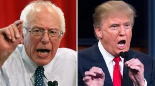 Image: Trump: Hillary Colluded with Democrats to Beat Crazy Bernie Sanders