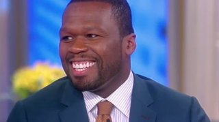 "Image: 50 Cent Says If Here Were President by ""Accident"" He'd Behave Like Trump"