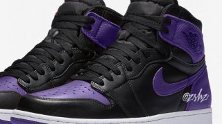 "Air Jordan 1 Retro High ""Court Purple"" Rumored for Spring 2020 Release"