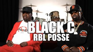 "Black C (RBL Posse) on ""Don't Give Me No Bammer Weed"" Being Hit in the City"